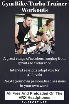 #GymBike #TurboTrainer #workouts - Make training more fun and challenging and enjoy your favourite tunes with our ultimate #SportHeadphones - #FitnessTech