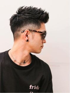 Five Top Short Mens Hairstyles For 2018 Asian Men Short Hairstyle, Asian Fade Haircut, Hairstyles Haircuts, Haircuts For Men, Medium Hair Styles, Short Hair Styles, Gents Hair Style, Asian Hair, Beard Styles