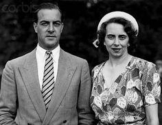 Princess Katherine of Greece with her husband, Major Richard Campbell Brandram. After her marriage Princess Katherine was known as Lady Katherine Brandram.