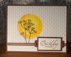 Garden Silhouettes by BLN - Cards and Paper Crafts at Splitcoaststampers