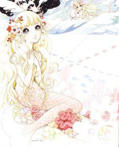 Mermaid princess by manga artist Macoto Takahashi.