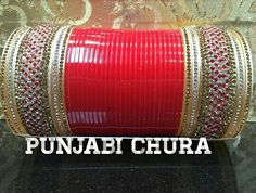 Bridal chura Wedding Chura, Bridal Chura, Bridal Lehenga, Punjabi Chura, Punjabi Bride, Khan Khan, Designer Bangles, Boutique Suits, Bridal Bangles