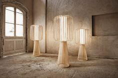 The Moolin Tall Standing Lamp by prestigious German design house, Lasfera, will make a striking impact in any living space. Tall Standing Lamp, Standing Lights, Laser Cut Lamps, Tall Floor Lamps, Love Your Home, Unique Lamps, Tripod Lamp, Cool Lighting, Furniture Design