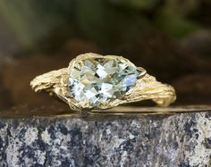 22 one-of-a-kind colorful engagement rings you'll love | Ken & Dana Design in NYC