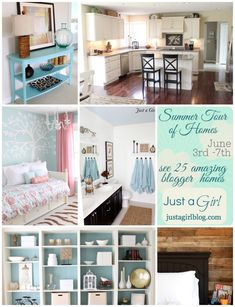 just a girl house tour