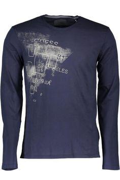 T-Shirt Uomo Guess Jeans (BO-M62I18K3P30 G720) colore Blu