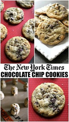 Ny Times Chocolate Chips Cookies Practice Your Patience With These Cookies Since The Dough Needs