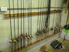 fishing equipment storage