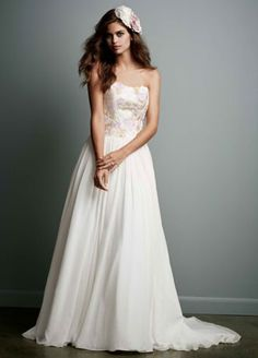 Find the perfect Galina wedding dress at David's Bridal. Our Galina bridal collection includes 2020 Galina wedding dresses in elegant designs! 2015 Wedding Dresses, Davids Bridal Dresses, Wedding Dress Sizes, Bridal Gowns, Wedding Gowns, Wedding Attire, Party Dresses, Lace Wedding, Galina Wedding Dress