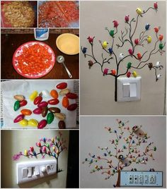 Make These Cute Pistachio Shell Birds Diy Home Crafts, Creative Crafts, Easy Crafts, Crafts For Kids, Arts And Crafts, Garden Crafts, Wall Painting Decor, Diy Wall Decor, Pista Shell Crafts