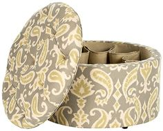#Safavieh's Tanisha shoe ottoman was featured in @Sandy McLeod Home's holiday gift guide for the home.
