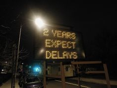Brutally honest street sign on Western Avenue, #CambMA