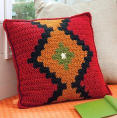 Everyday Life at Leisure: I'm Going to Learn Crochet Intarsia! I am So Brave!