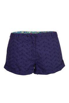 Mini shorts effet ajouré femme - Shorts - femme - NAF NAF