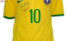 Leilão para ajudar criança capixaba com câncer raro terá camisas de Neymar e Zico