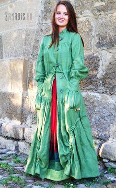 Бохо в цвете ~ Льняная женская одежда с элементами бохо-стиля ~ дизайнер Ксения Берестовая