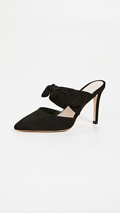 New Loeffler Randall Flora Bow Mules Womens Fashion Shoes. Fashion is a popular style Work Fashion, Fashion Shoes, Fashion Accessories, Evening Shoes, Loeffler Randall, The Chic, Style Guides, Heeled Mules, Kitten Heels