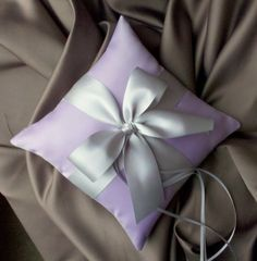 Romantic Satin Ring Bearer PillowYou Choose the by RomancingJuliet, $22.50