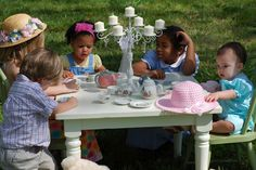 Tea sets are any easy win at a birthday party.