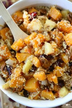 Fall Harvest Quinoa Salad