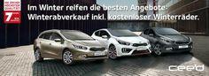 Winterabverkauf bei #Kia! This Is Us, Car, Automobile, Vehicles, Cars