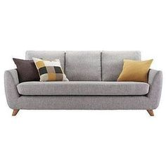 Buy Marl Grey G Plan Vintage The Sixty Seven Large Sofa from our Sofas range at John Lewis. Free Delivery on orders over Sofa Chair, Sofa Furniture, Sofa Set, Chair Cushions, Armchair, Furniture Design, Vintage Sofa, Living Room Sofa Design, Living Room Decor