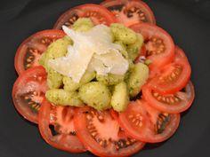 Tomato Carpaccio with Gnocchi