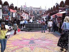 El Parian, en la hermosa ciudad de Puebla