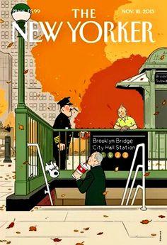 Les Aventures de Tintin - Album Imaginaire - The New Yorker