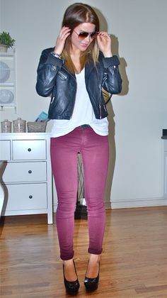 loving colored jeans