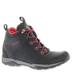 Columbia Womens Fire Venture Waterproof Mid Hiking Boots BlackBurnt Henna 85 M US * Check this awesome product by going to the link at the image.