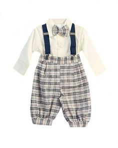 Checkered Navy Knickers From The Lil Guy Store