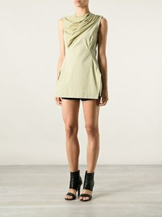 153777a213f RICK OWENS draped top Classy And Fabulous