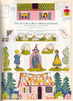 Peep Box (Hansel and Gretel), from Pictorial Review, June, 1925)