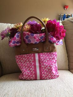 Flowers in the bag
