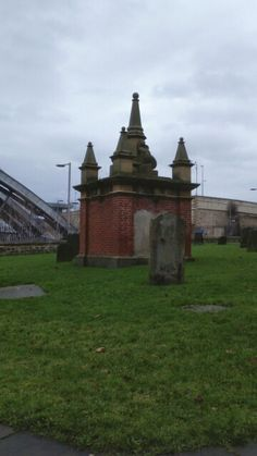 Graveyard Of St Marys Heritage Church In Gateshead