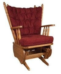 Rocking Chair, red Amish Rocking Chair Amish Rocking Chairs, Red