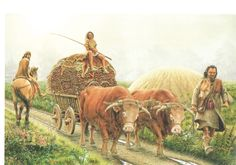 1,500 BCE - A Bronze Age road in Öchlitz, Germany