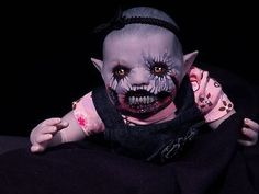 The Morbid Dollhouse creepy art doll