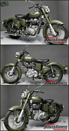 FOR SALE 2012 Royal Enfield C5 Bullet Military | National Powersports Distributors | Pembroke, NH | Click the pin for more details or go to www.CycleCrunch.com/50611 | #cyclecrunch #motorcycle #royal #military #bikeforsale