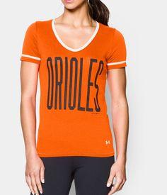 Women s Baltimore Orioles UA Shirzee T-Shirt  e0762390a