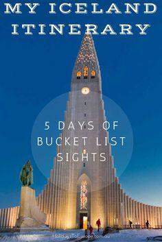Iceland Itinerary
