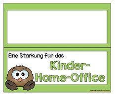 Kinder-Home-Office – Klassenkunst Home Office, Teachers' Day, Home Schooling, Kindergarten, Homeschool, Education, Kids, Crafts, Crowns