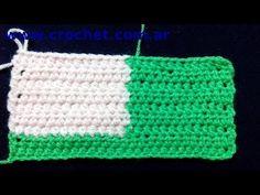 Como cambiar de color en el tejido crochet tutorial paso a paso.