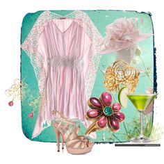 """~Butterfly's & Martini's~"" by jbarefoo on Polyvore"