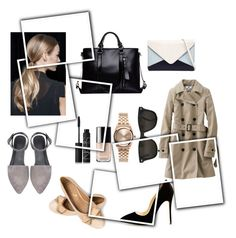 """""""Mood board for an elegant look!"""" by thebigcarousel on Polyvore featuring NARS Cosmetics, Chanel, Nixon, Uniqlo, Jendi, look, Elegant, trends and tips"""