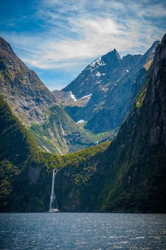 One of the most breathtaking views. (Milford Sound, New Zealand) (2848x4288) - Imgur