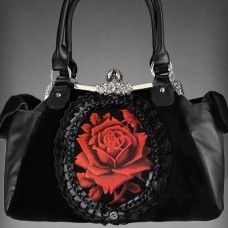 The worlds best online alternative clothing store. Featuring the best in punk streetwear grunge metal and gothic clothing & accessoires. Gothic Mode, Gothic Lolita, Gothic Chic, Fashion Moda, Fashion Bags, Fashion Shoes, Estilo Dark, Style Rock, Frame Bag