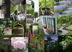 Garden Design Mood Board mood-board-full (1082×809) | i'm in the mood for moodboards