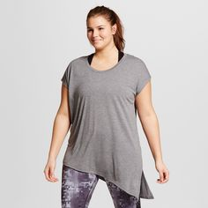Women's Plus-Size Active Side-Tie Tee -